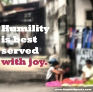 SnapshotBlog 013: What does your humility looklike?