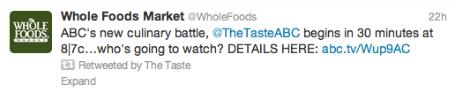 whole foods taste